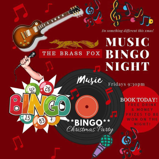 Music Bingo Night!